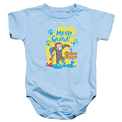 Curious George Messy Infant Bodysuit