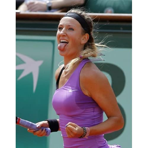 Amazon.com : Victoria Azarenka 8x10 Photo Tongue Sticking Out : Other