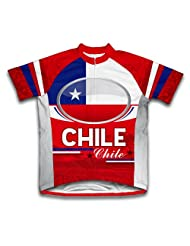 Chile Short Sleeve Cycling Jersey for Women