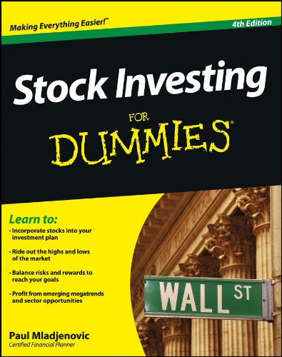 Stock options for dummies pdf