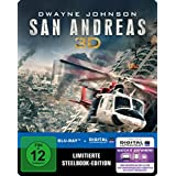 San Andreas Steelbook - exklusiv bei Amazon.de - 3D Blu-ray - Limited Edition