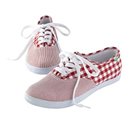 Homer Gingham Shoes - Red : Target from target.com