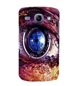 printtech Technical Eye Back Case Cover for Samsung Galaxy J1 / Samsung Galaxy J1 J100F