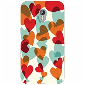 Moto G (3rd Generation) Back Cover - Silicon Hearts Designer Cases