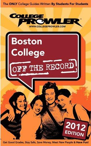 Boston College 2012: Off the Record
