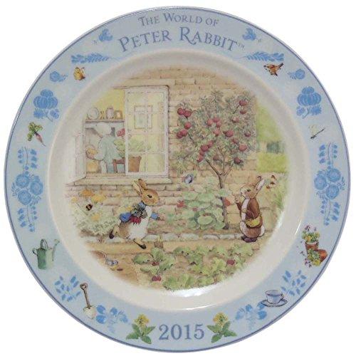 PETER RABBIT ピーターラビット イヤーズプレート (皿たて付き) 2015年 PR2015