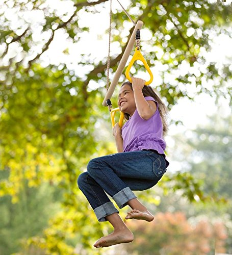Backyard Gymnastic Rings : Rings Swing Outdoor Play Set Sporting Goods Gymnastics Gymnastics