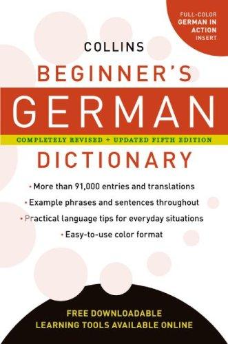 Collins Beginner's German Dictionary, (Collins Language)