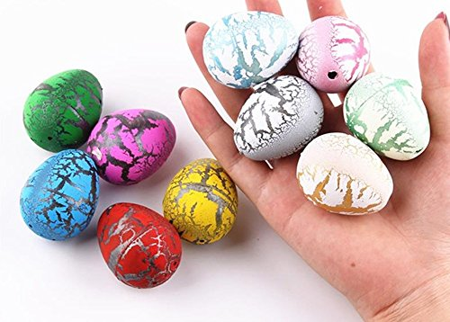 Mini Hatchables Toy 12 Pcs./ Lot Best Hatching Growing Dinosaur Dino Eggs Add Water Magic Cute Children Kids Toy 12 Pcs/Lot