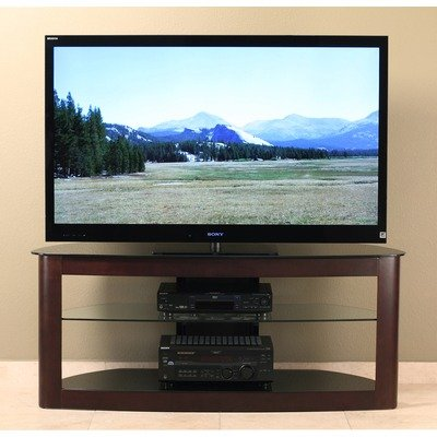 Cheap 55″ Flat Panel TV Stand in Espresso (TD610ES)