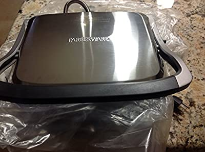4-in-1 Grill & Griddle Combo Non-Stick Adjustable Temperature w/Stay Cool Handle