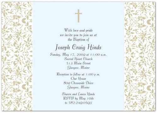 Baptism Invitations Photo