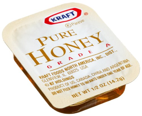 Kraft Pure Honey, 0.5-Ounce Cups (Pack of 200)