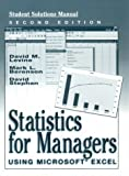 Statistics for Managers Using Microsoft Excel and Student CD Package (5th Edition)