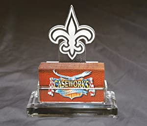 NFL New Orleans Saints Business Card Holder in Gift Box by Caseworks