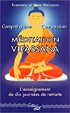 echange, troc Rosemary Weissman, Steve Weissman - Méditation vipassana