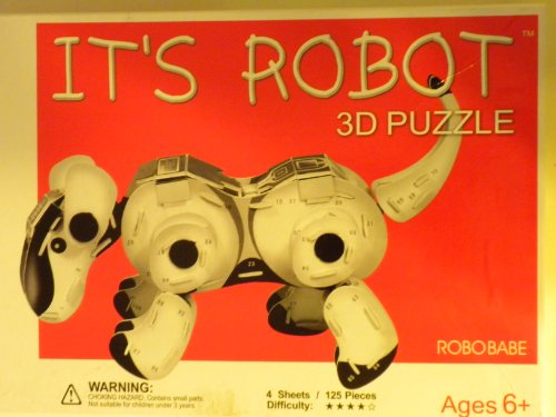 It's Robot: 3D Puzzle Robo Babe