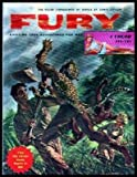 img - for FURY - Exciting True Adventures for Men - Volume 22, number 3 - January 1957: The Black Prince of the Yellow Girdle; America's Head Hunting Indians; The Evil White Queen of the Jungle; They Steal Millions from Charity; Are Prostitutes Human Beings book / textbook / text book