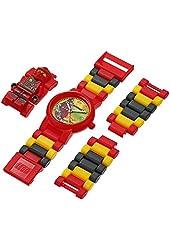 Lego Kids' 8020134 Ninjago Jungle Kai Link Watch