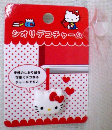 Kitty and bookmark デコチャーム bookmark accessories