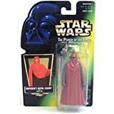1 X Star Wars Power Of The Force Emperors Royal Guard With Green Card Action Figure With Force Pike Coll