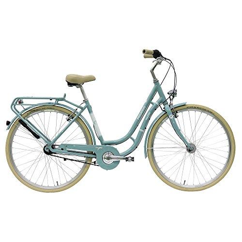 Pegasus Piazza Tour 7 Gang Damen City Fahrrad 2017, Farbe:türkis;Rahmenhöhe:50 cm