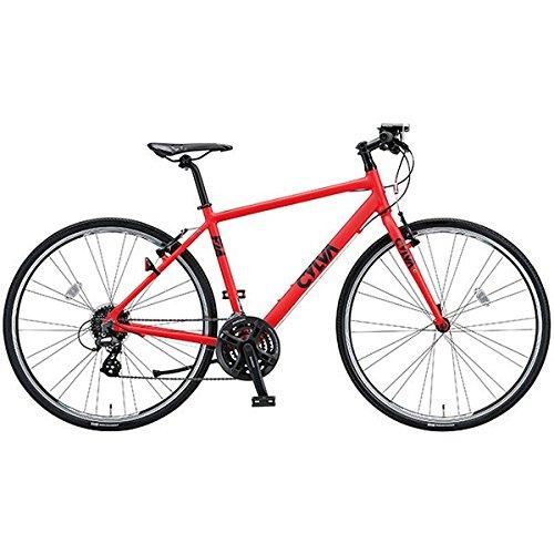 ブリヂストングリーンレーベル(BRIDGESTONE GREEN LABEL) クロスバイク CYLVA(シルヴァ) F24 T.BマットBSレッド 420mm F24426