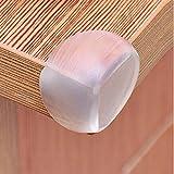 Lusee® 10x Protector de esquina la protección de borde de la mesa de espuma para bebé el Protecciones para bordes y esquinas transparente borde de la mesa