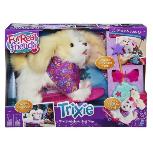 Amazing Furreal Friends Trixie The Skateboarding Pup by Hasbro by Amazing Furreal Friends Trixie The Skateboarding P