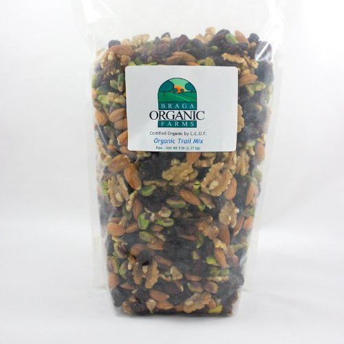 Braga Organic Farms Organic Trail Mix 5 lb bag by Braga Organic Farms