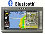 """Navsgo GO760 7"""" on dash car GPS 3D building USA/Canada maps Text-to-speech voice guide Bluetooth FM transmitting MP3 MP4"""