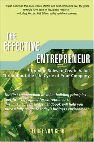 L'Entrepreneur efficace