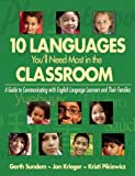 img - for 10 Languages You'll Need Most in the Classroom: A Guide to Communicating with English Language Learners and Their Families by Sundem Garth Krieger Jan Pikiewicz Kristi (2014-10-21) Paperback book / textbook / text book