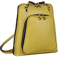 Heshe 2014 New Fashion Genuine Leather Ladies Backpack Handbag Shoulder Sling Tote Messager Bag