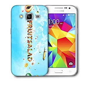 Snoogg Fruitsalad Printed Protective Phone Back Case Cover For Samsung Galaxy Core Plus G3500