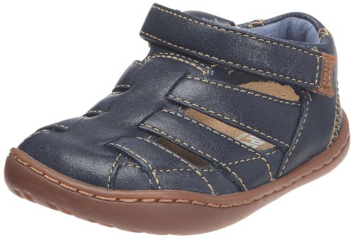 Camper Peu Cami Unisex Children's Half Shoe Blue (Krypton Denim/Path Honey) UK 3