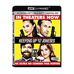 Keeping Up With The Joneses [4K Ultra HD + Blu-ray]