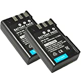 Pack of 2 Batteries 7.4V 1800Mah For Nikon En-El9A D3000 D60