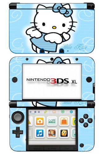 Hello Kitty Sanrio Blue Fairy Game Skin for Nintendo 3DS XL Console