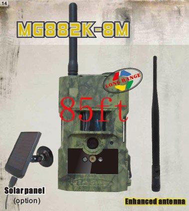 85 ft Long Range ScoutGuard MG882K-8M Black IR Wireless MMS/GPRS Outdoor Trail Scouting Hunting Game Camera