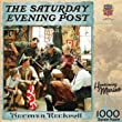 Masterpieces Puzzles Homecoming Marine 1000 pc Saturday Evening Post