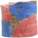 Sahi Pakde Hain Ceramic Multipurpose Vase (Sph-158, Blue, 16 Cm X 12 Cm X 14 Cm)