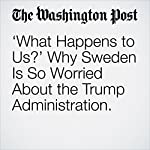 'What Happens to Us?' Why Sweden Is So Worried About the Trump Administration. | Anne Applebaum