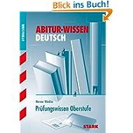 Abitur-Wissen Deutsch / Prüfungswissen Oberstufe