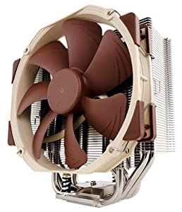 Noctua NH-U14S for Intel LGA 2011,1156,1155, 1150 and AMD AM2/AM2+/AM3/3+,FM1/2 Sockets, U Type, 6 Heatpipe,140mm CPU Cooler Cooling