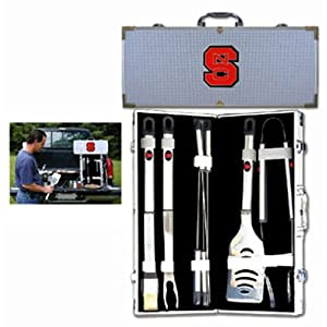 Buy NCAA North Carolina State Wolfpack 8 Piece BBQ Set by SISKIYOU