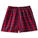 Robinson Apparel Unisex Plaid Flannel Short Trade Show Giveaway