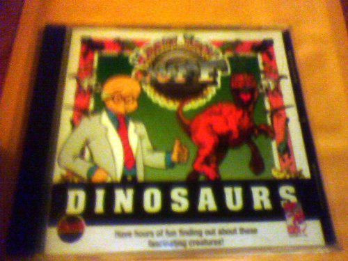 DINOSAURS KNOW YOUR STUFF PC CD ROM WINDOWS 95