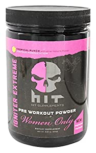 HIT Supplements Igniter Extreme Pre Workout Supplement for Women