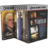 Ken Burns - American Lives (Thomas Jefferson / Lewis & Clark / Frank Lloyd Wright / Elizabeth Cady Stanton & Susan B Anthony / Mark Twain / Horatio's Drive / Unforgivable Blackness)